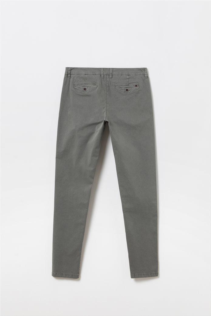 Παιδικό παντελόνι chino Slim fit Ανθρακί 1