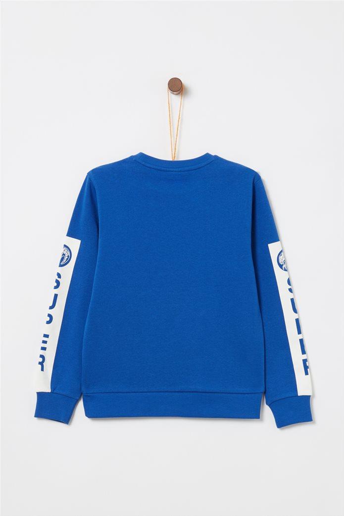 ΟVS παιδικό φούτερ μακρυμάνικο με print 1