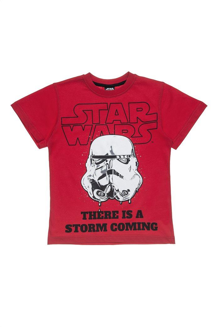 Alouette παιδικό T-shirt με print Star Wars Storm Trooper (6-14 ετών) 0