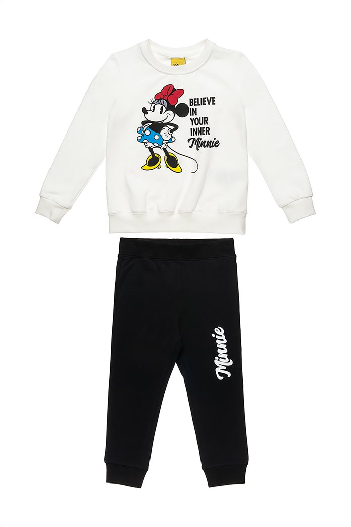 "Alouette παιδικό σετ ρούχων μπλούζα με print ""Minnie Mouse"" και παντελόνι (18 μηνών-8 ετών) 0"