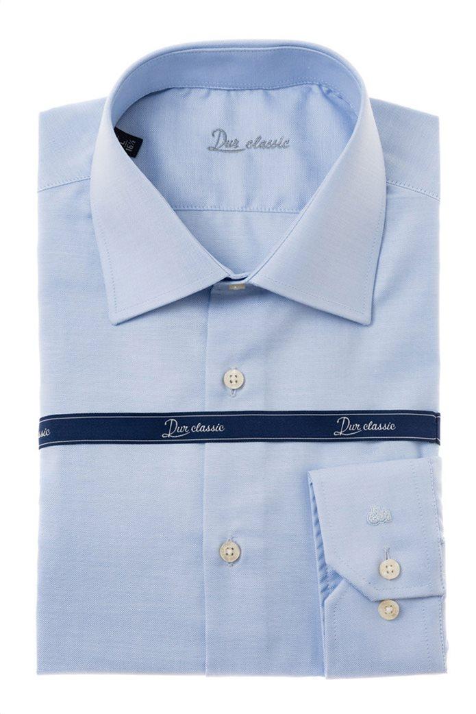 Dur ανδρικό πουκάμισο Oxford Γαλάζιο 0