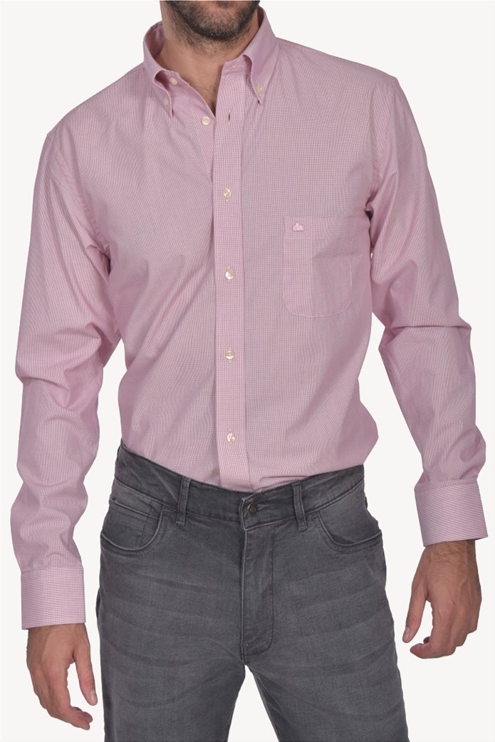 Dur ανδρικό πουκάμισο ριγέ button down Regular fit 0