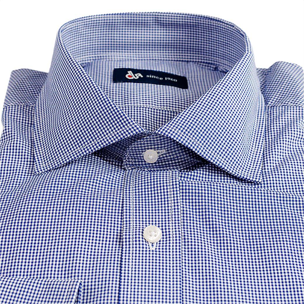Dur ανδρικό πουκάμισο με μικρό καρό 1