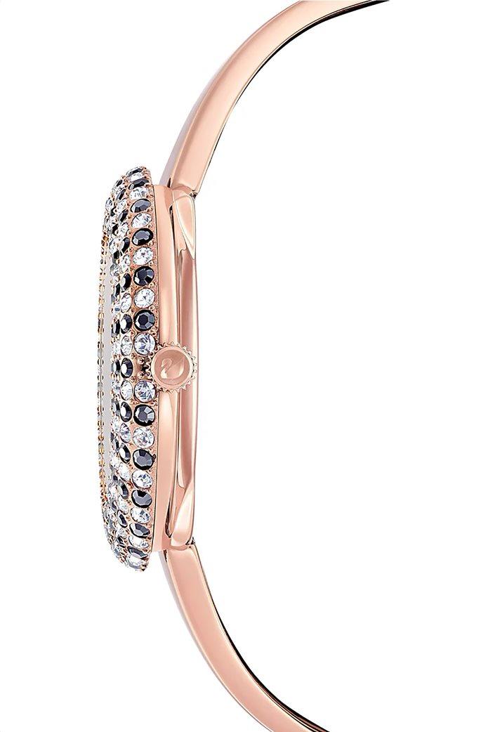 Swarovski Crystal Rose Watch, Metal Bracelet, Rose-gold tone PVD 2