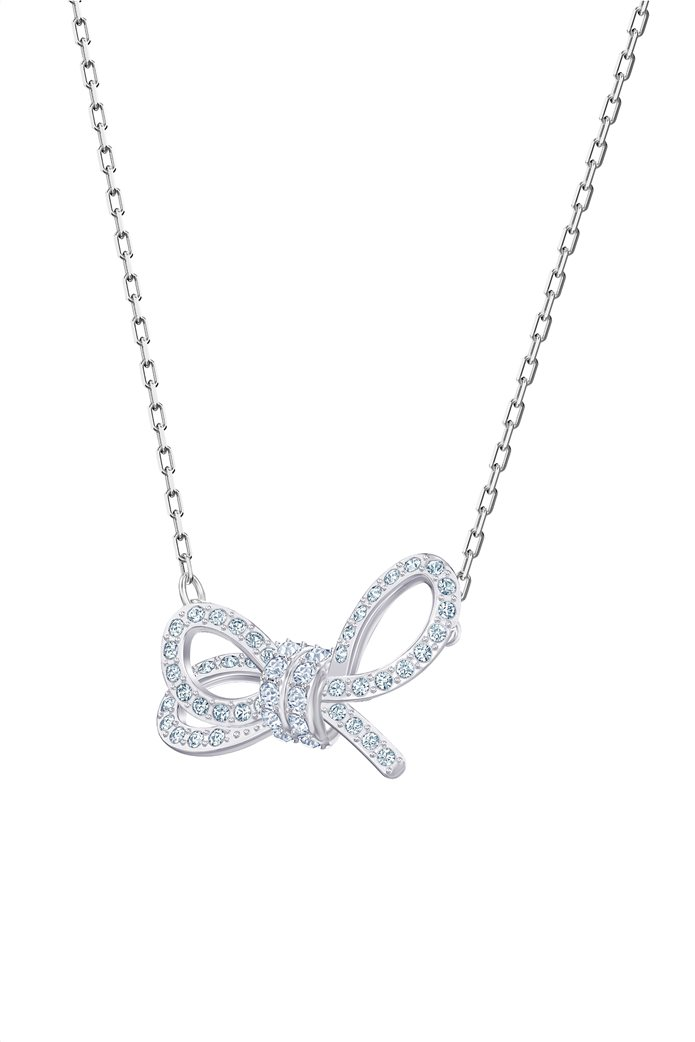 Swarovski Lifelong Bow Necklace, Rhodium plating 1