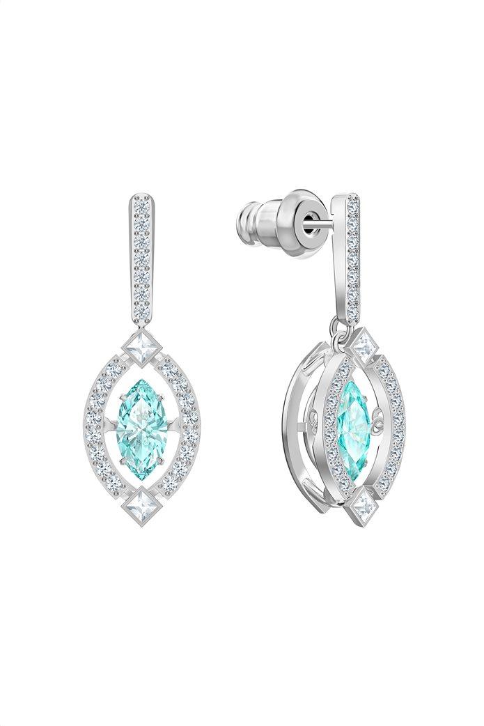 Swarovski Sparkling Dance Pierced Earrings, Rhodium plated 3