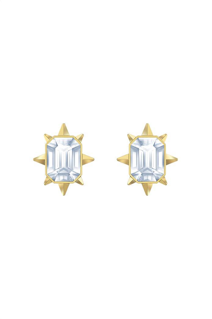 Swarovski Tarot Magic Stud Pierced Earrings, Gold-tone plated 0