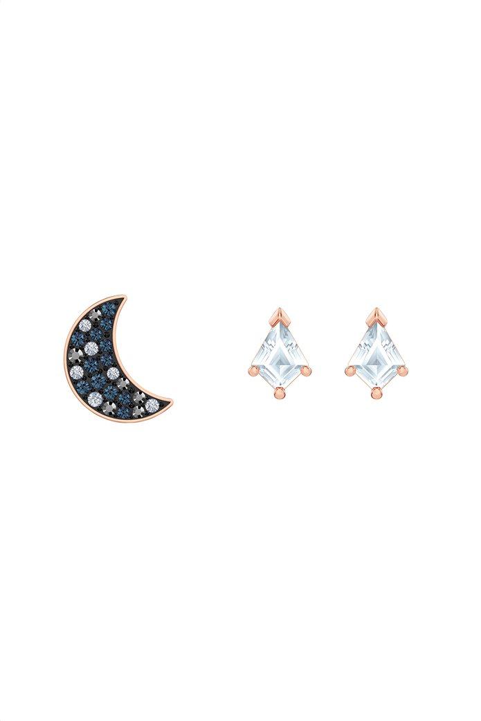 Swarovski Symbolic Pierced Earrings set, Rose-gold tone plated 0