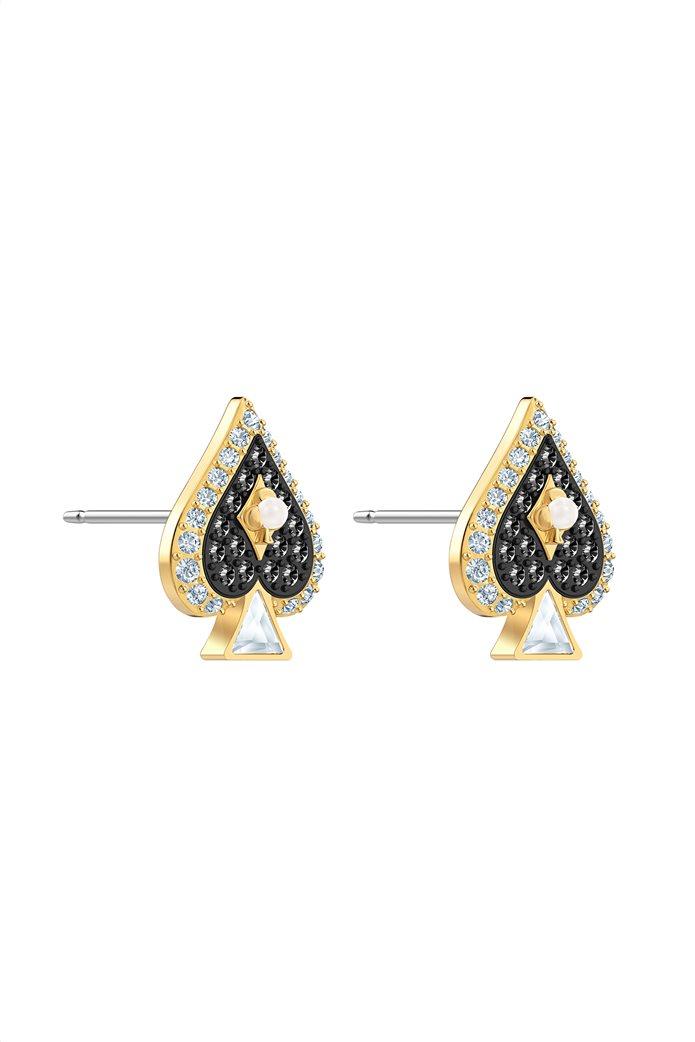 Swarovski Tarot Magic Stud Pierced Earrings, Gold-tone plated 2