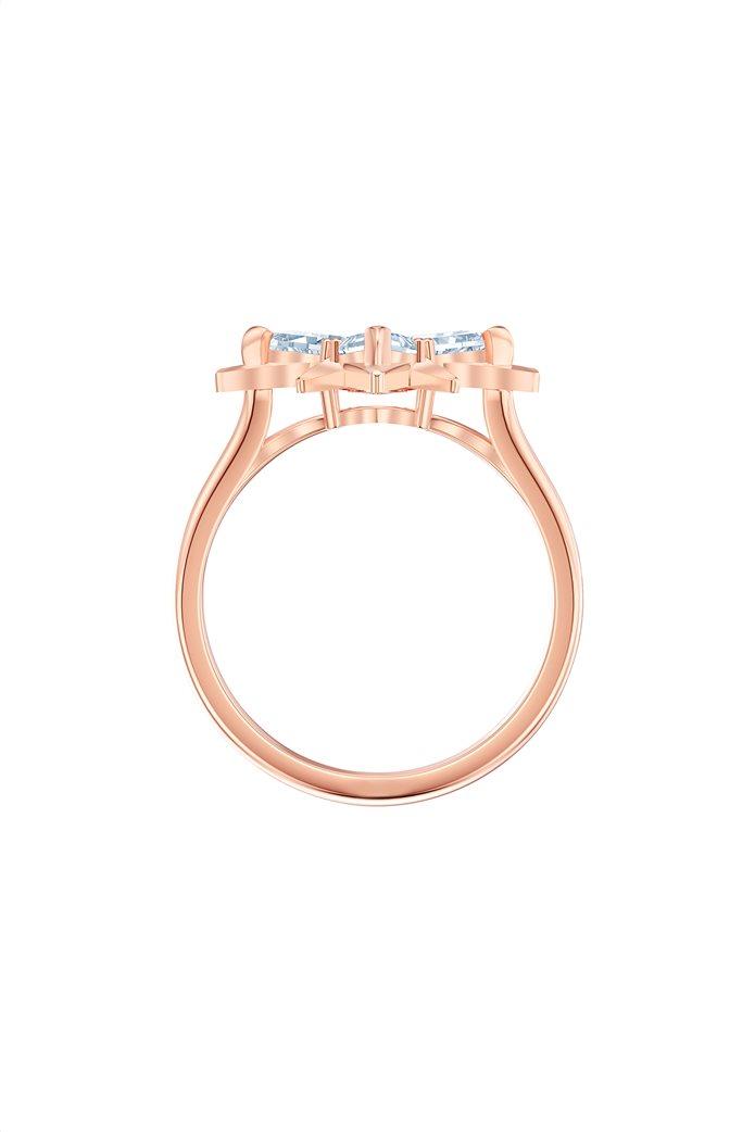Swarovski Symbolic Star Motif Ring, Rose-gold tone plated Size 52 2