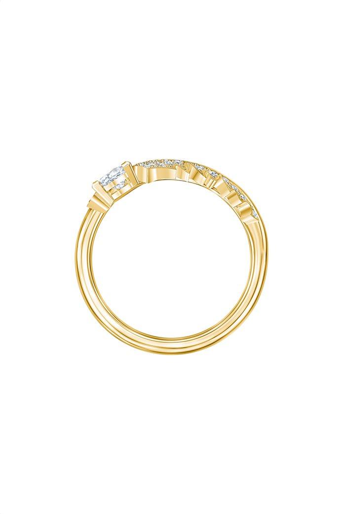 Swarovski Nice Motif Ring, Gold-tone plated Size 58 2