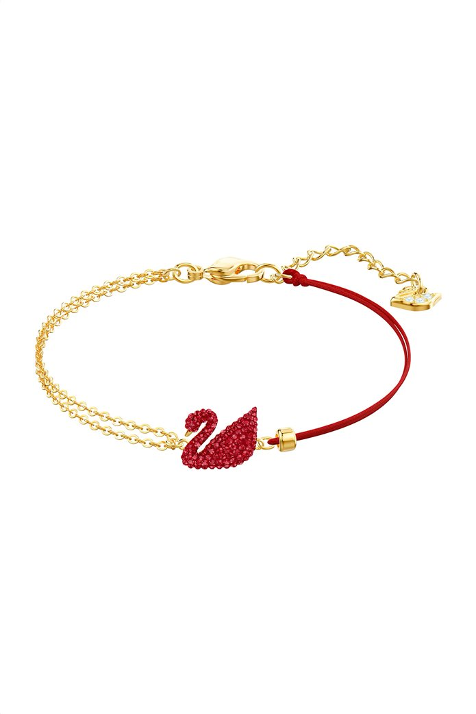 Swarovski Iconic Swan Bracelet, Gold plating 0
