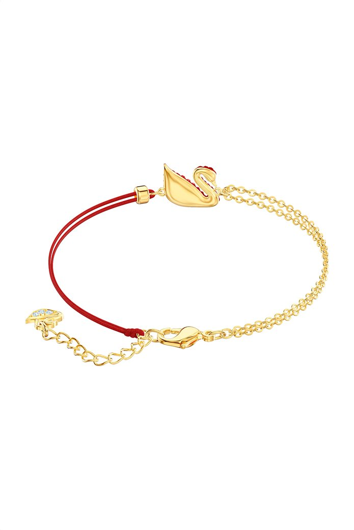 Swarovski Iconic Swan Bracelet, Gold plating 1