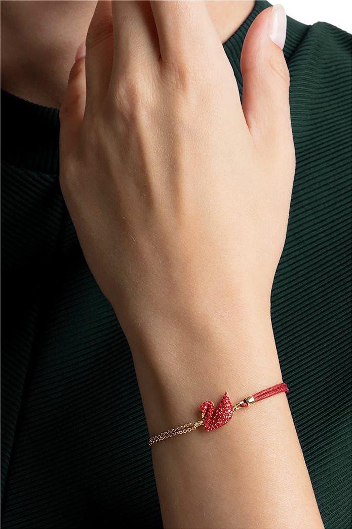 Swarovski Iconic Swan Bracelet, Gold plating 2