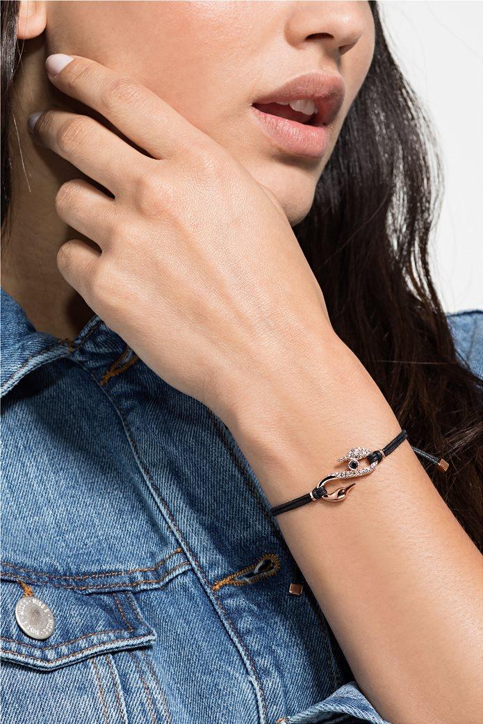 Swarovski Power Collection Hook Bracelet, Rose-gold tone plated 1