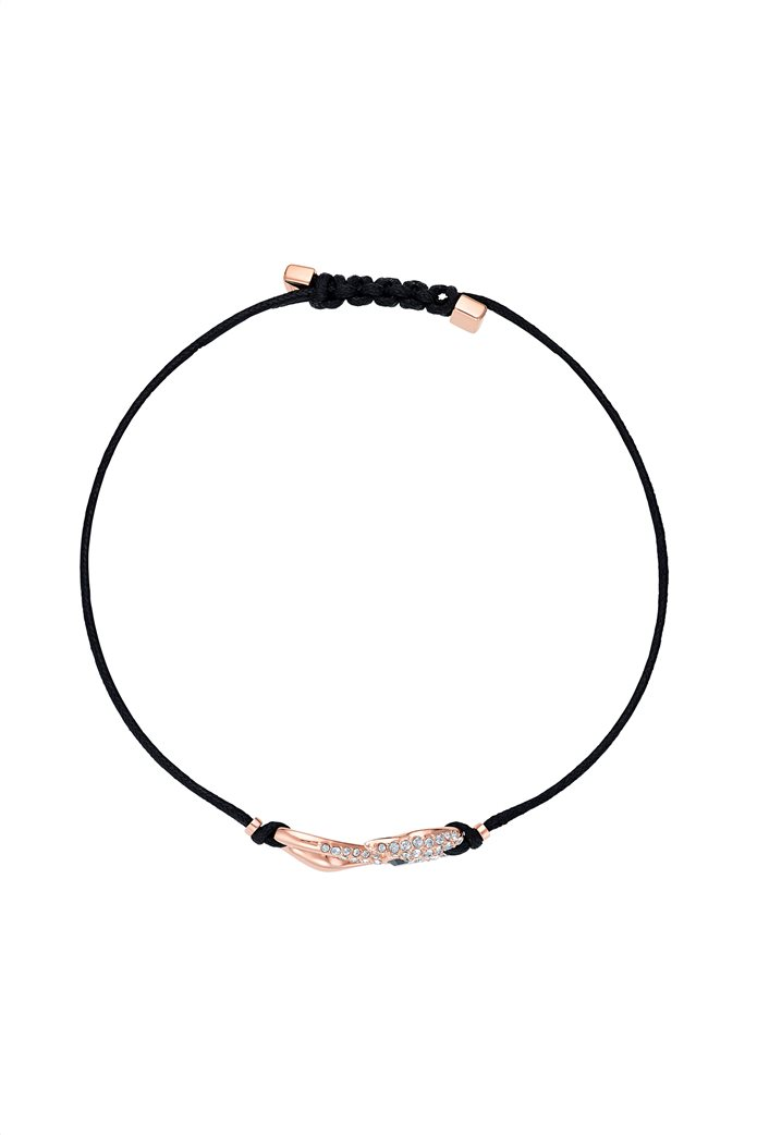 Swarovski Power Collection Hook Bracelet, Rose-gold tone plated 2