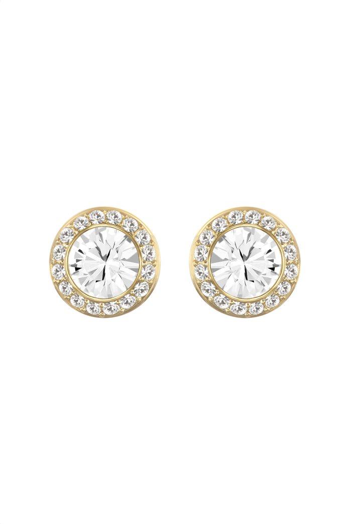 Swarovski Angelic Stud Pierced Earrings, Gold-tone plated 0