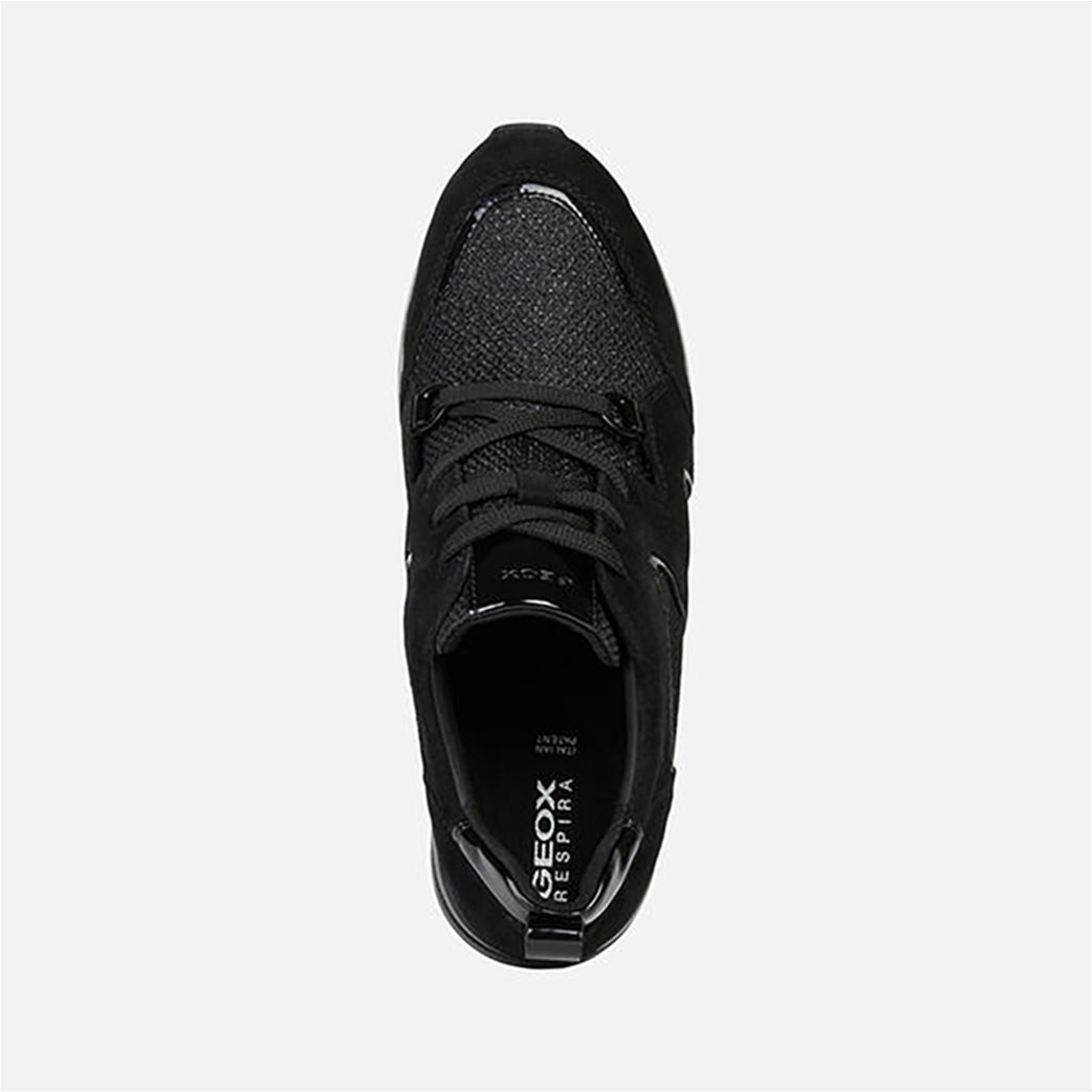 Geox γυναικεία δετά sneakers με ψηλή σόλα 3