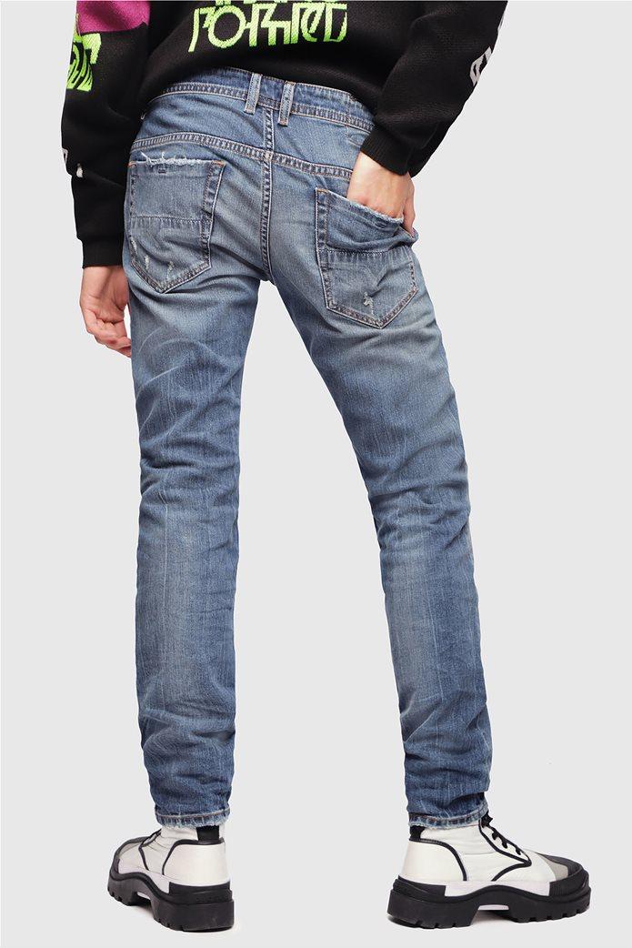 Diesel ανδρικό τζην παντελόνι με φθορές Thommer (32L) 3