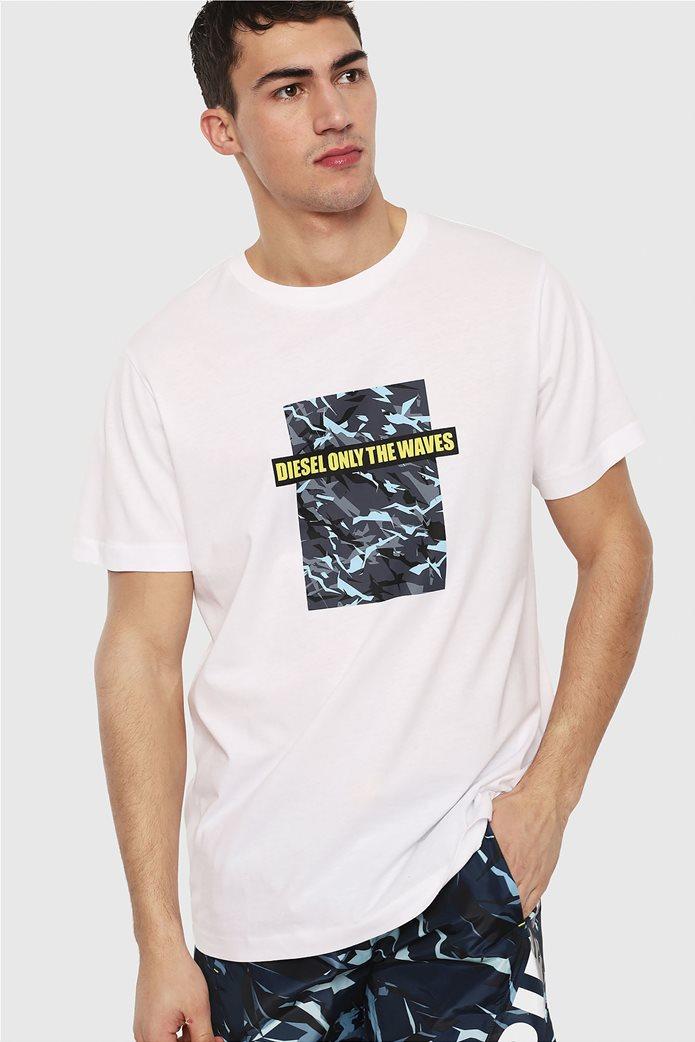 Diesel ανδρικό T-shirt Just B 0