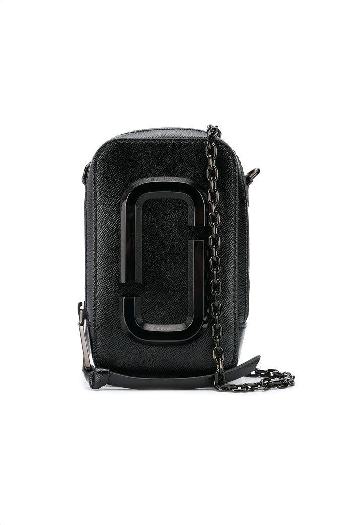 """Marc Jacobs γυναικείο δερμάτινο mini bag """"The Hot Shot"""" Μαύρο 0"""