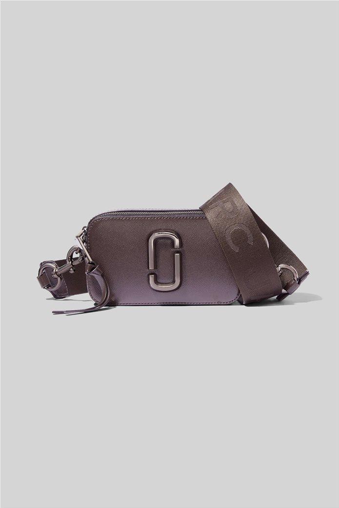 """Marc Jacobs γυναικείο δερμάτινο mini bag """"Snapshot Dtm"""" Ανθρακί 0"""