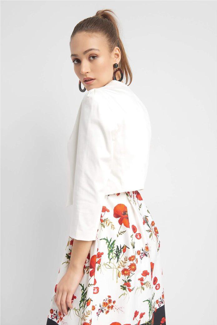 Orsay γυναικείο σακάκι κοντό χωρίς κουμπιά σε στυλ μπολερό 0