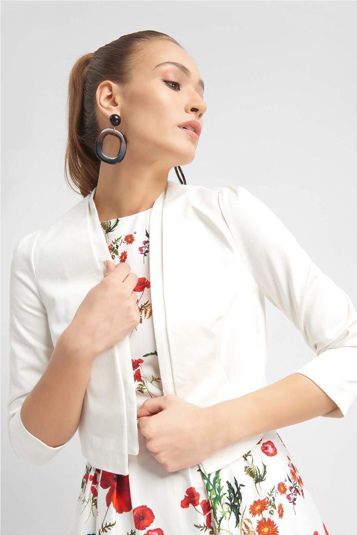 Orsay γυναικείο σακάκι κοντό χωρίς κουμπιά σε στυλ μπολερό 1