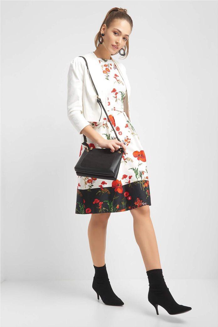 Orsay γυναικείο σακάκι κοντό χωρίς κουμπιά σε στυλ μπολερό 2