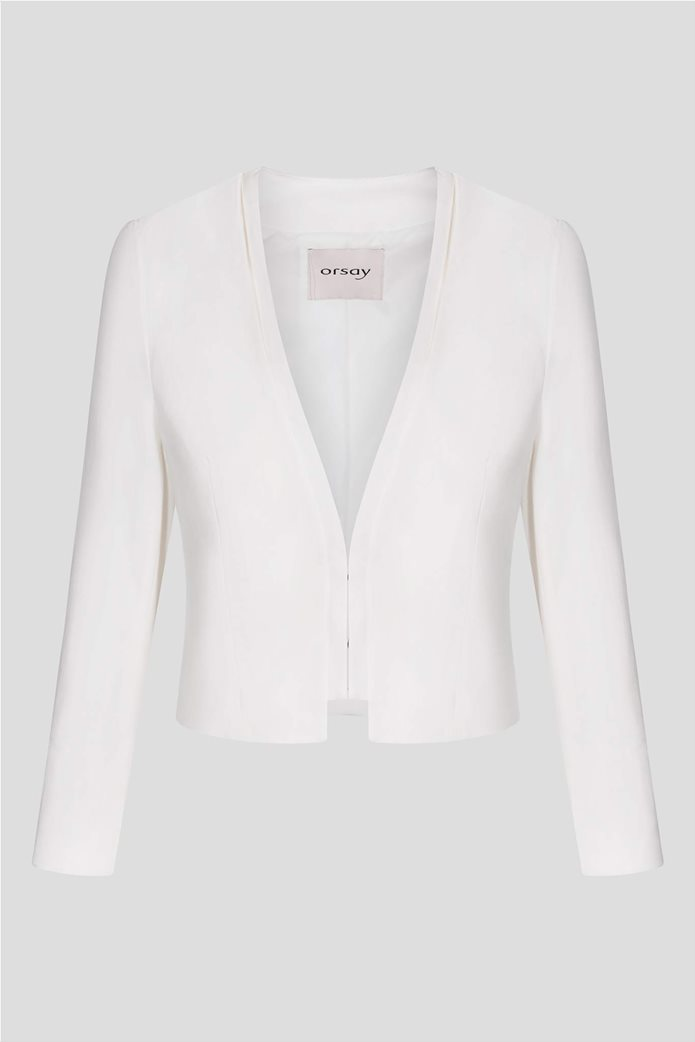 Orsay γυναικείο σακάκι κοντό χωρίς κουμπιά σε στυλ μπολερό 4