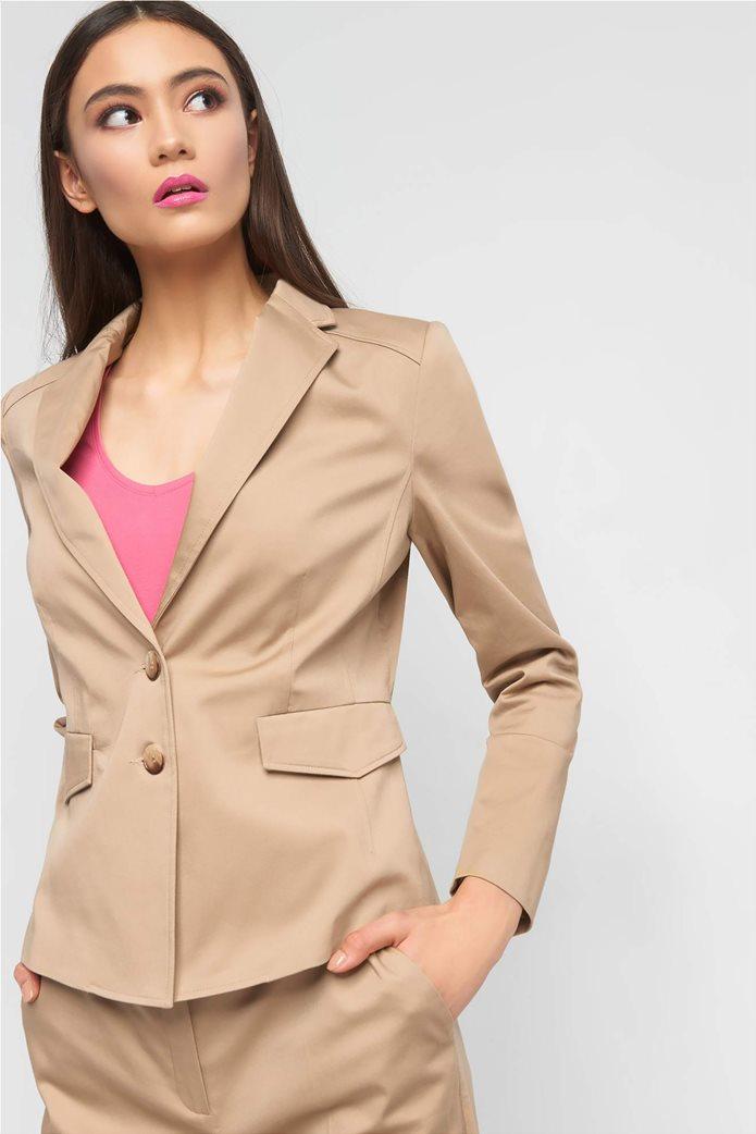 Orsay Γυναικείο σακάκι μονόχρωμο δίκουμπο 1