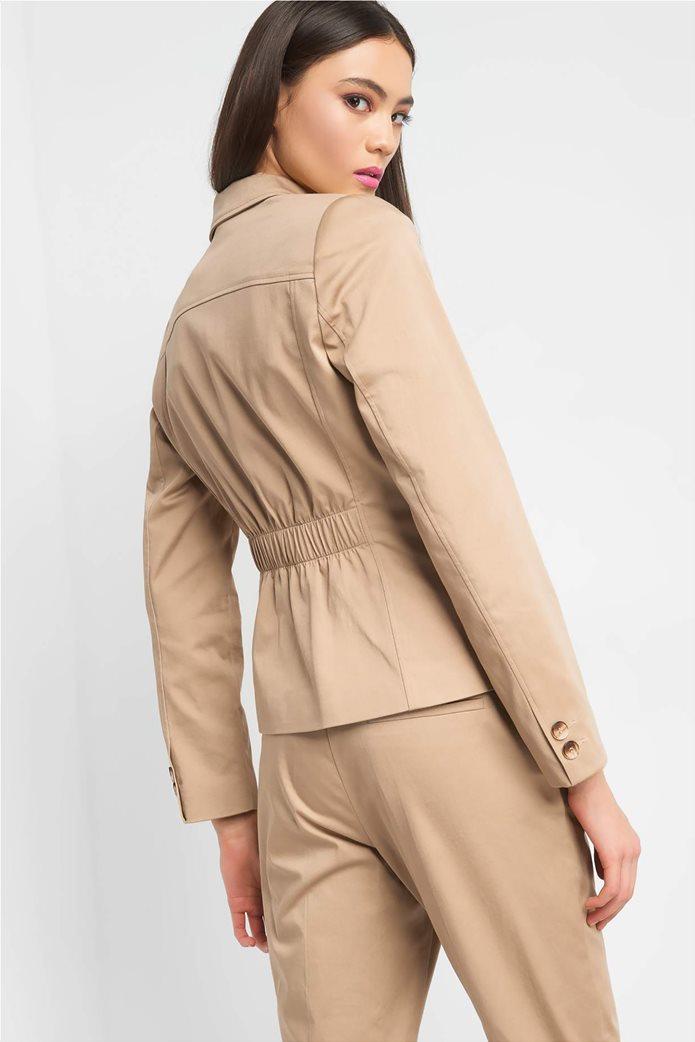 Orsay Γυναικείο σακάκι μονόχρωμο δίκουμπο 2