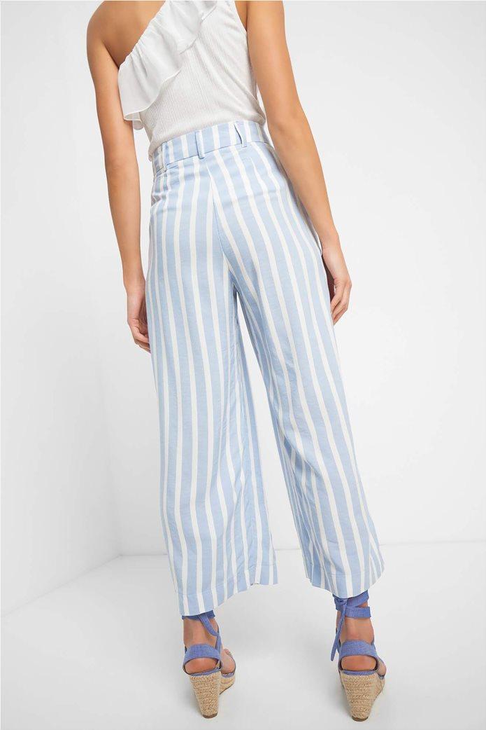 Orsay γυναικεία παντελόνα ριγέ cropped 1