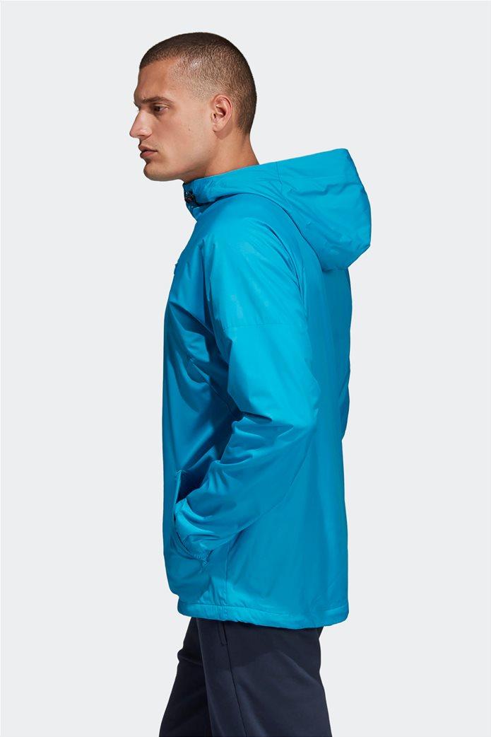 Adidas ανδρικό jacket με κουκούλα  ID WND Jacket Fleece-Lined 1