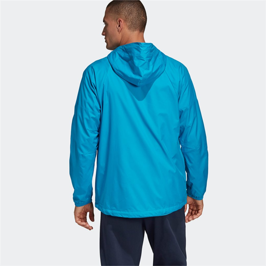 Adidas ανδρικό jacket με κουκούλα  ID WND Jacket Fleece-Lined 2