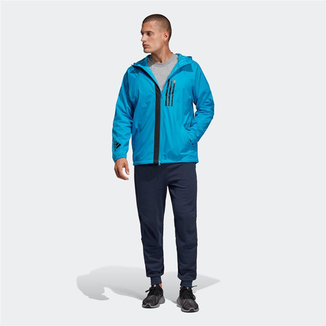 Adidas ανδρικό jacket με κουκούλα  ID WND Jacket Fleece-Lined 4