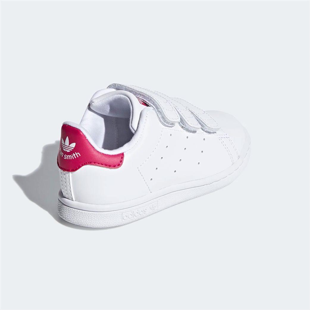 Adidas βρεφικά αθλητικά παπούτσια  Stan Smith Λευκό 4