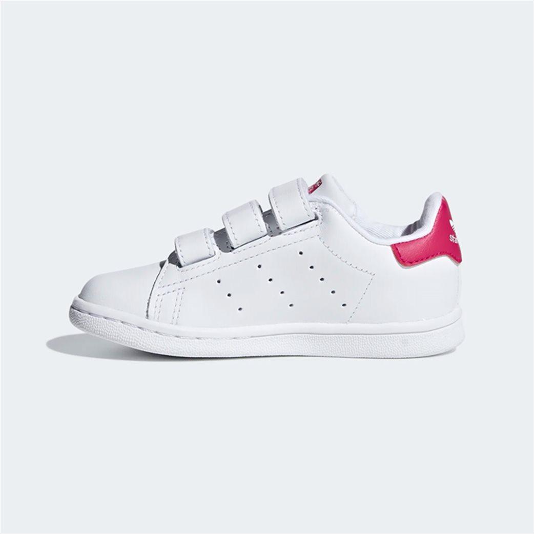 Adidas βρεφικά αθλητικά παπούτσια  Stan Smith Λευκό 5
