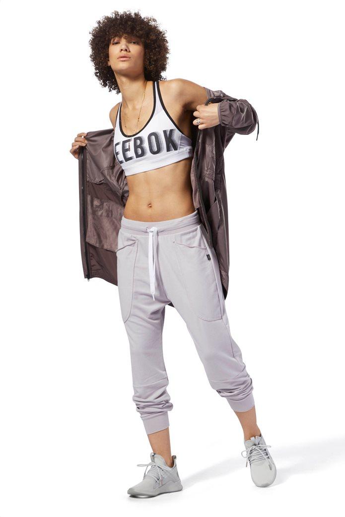 Reebok γυναικείο μπουστάκι Hero Racer Brand Λευκό 1