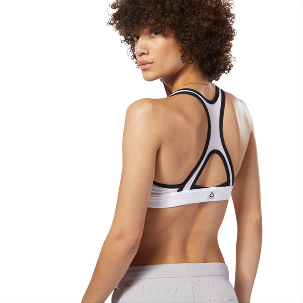 Reebok γυναικείο μπουστάκι Hero Racer Brand Λευκό 3