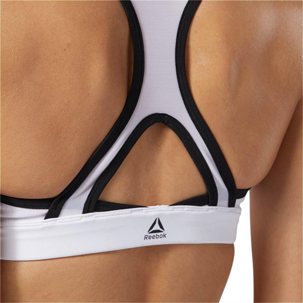 Reebok γυναικείο μπουστάκι Hero Racer Brand Λευκό 5