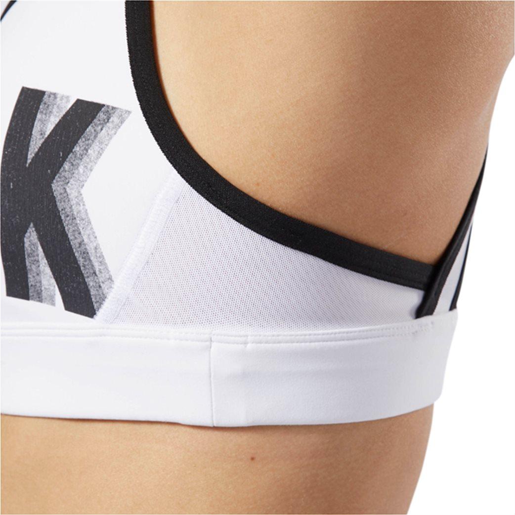Reebok γυναικείο μπουστάκι Hero Racer Brand Λευκό 6