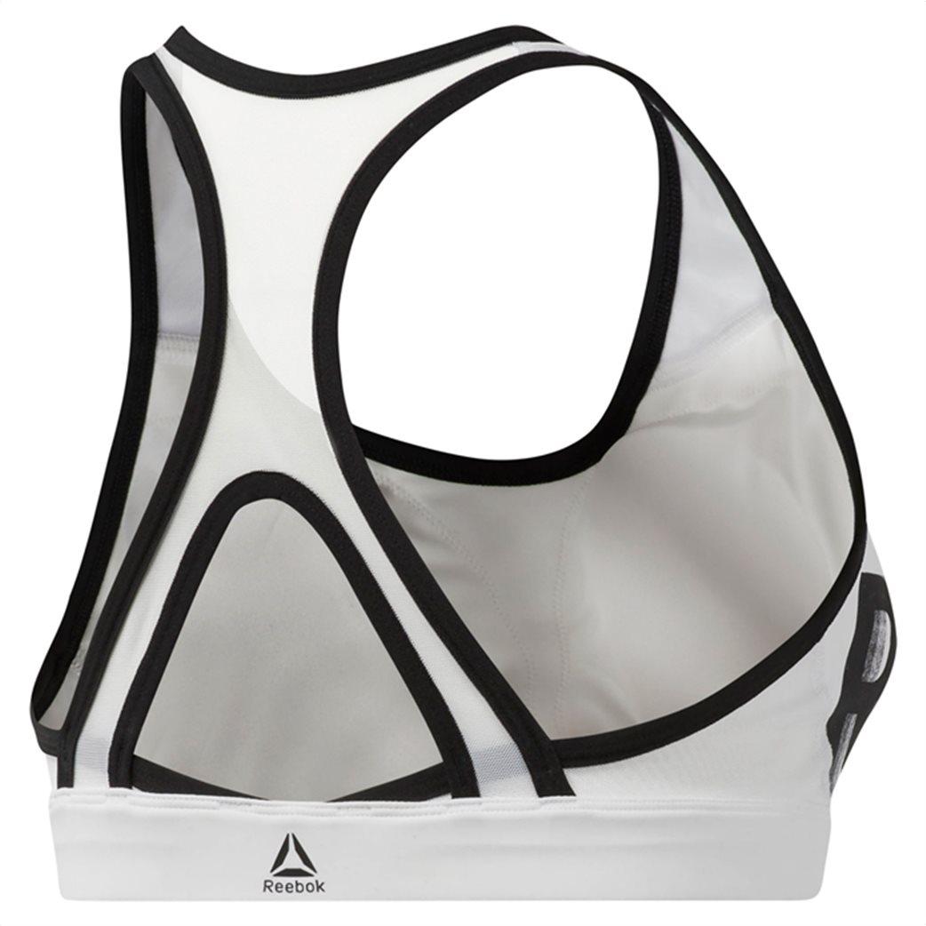 Reebok γυναικείο μπουστάκι Hero Racer Brand Λευκό 8