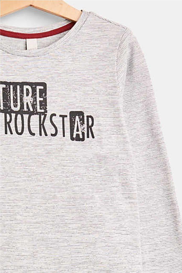 Esprit παιδικό μακρυμάνικο μπλουζάκι με logo print 2