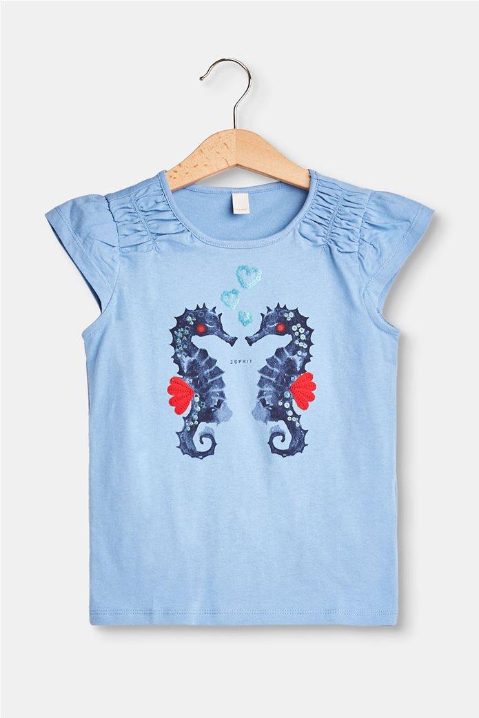 Παιδικό T-shirt με print (2-9 ετών) Esprit  0