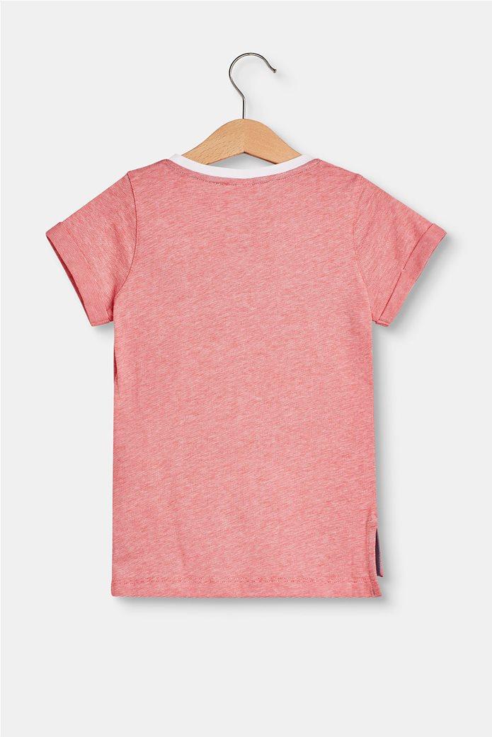 Παιδικό T-shirt με letter print (2-9 ετών) Esprit Κοραλί 3