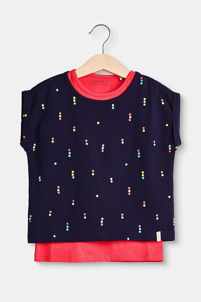 Παιδικό T-shirt layer με print (2-9 ετών) Esprit 1