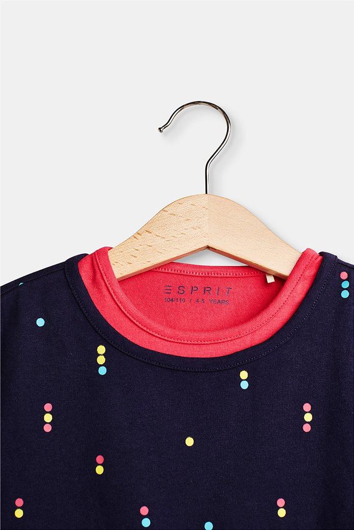 Παιδικό T-shirt layer με print (2-9 ετών) Esprit 2