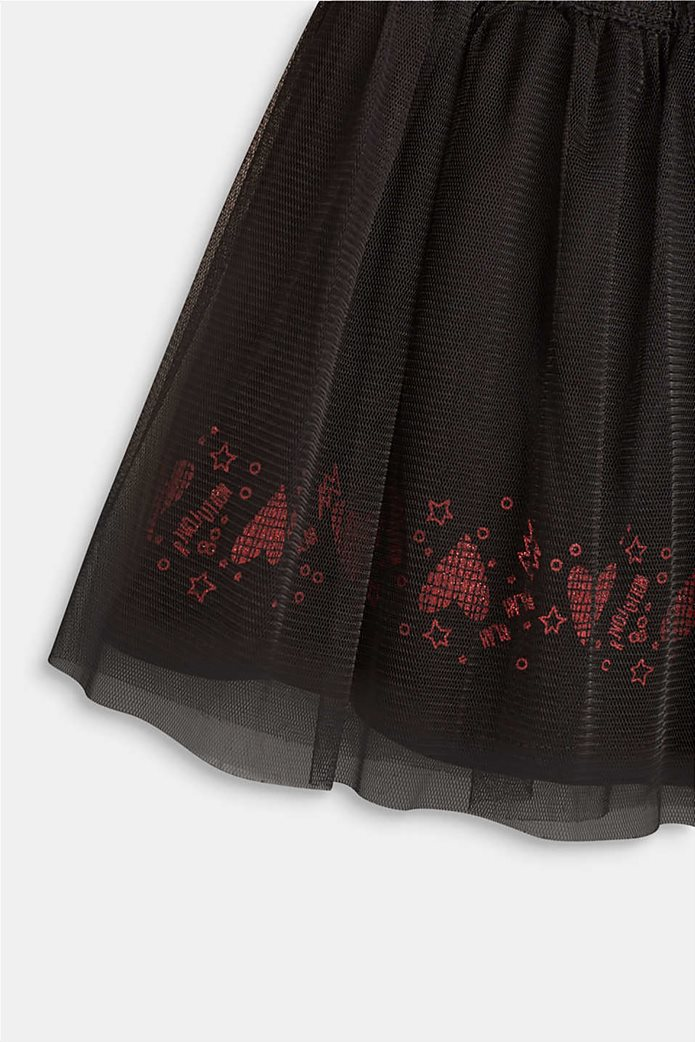 Esprit παιδική φούστα μονόχρωμη με λάστιχο και τούλι 1