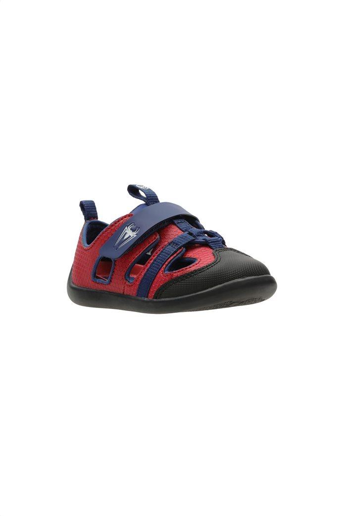 "Clarks παιδικά παπούτσια ""Play Spider T"" Κόκκινο 1"